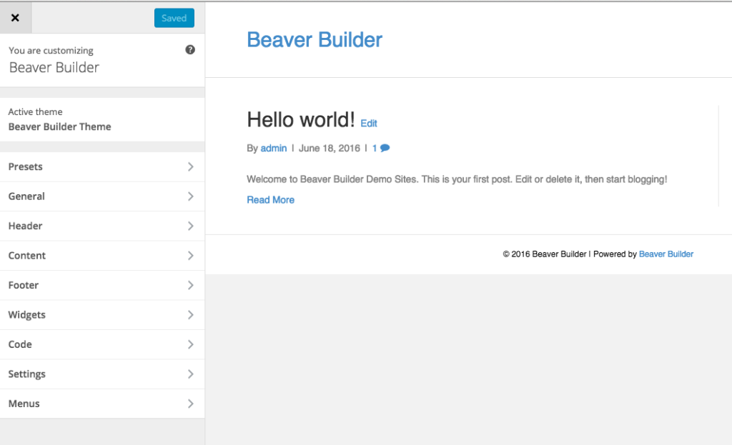 Should I use the Beaver Builder Theme?