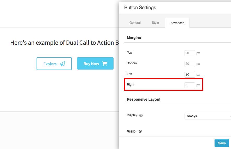 dual-button-margin