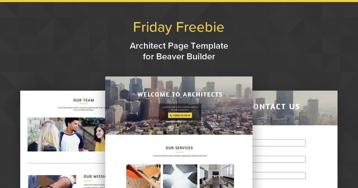 architect-free-template