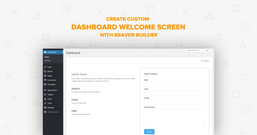 dashboard-welcome-beaver-builder