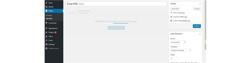 page builder loader