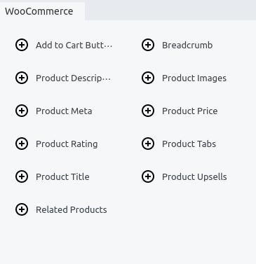 WooCommerce Themer Modules