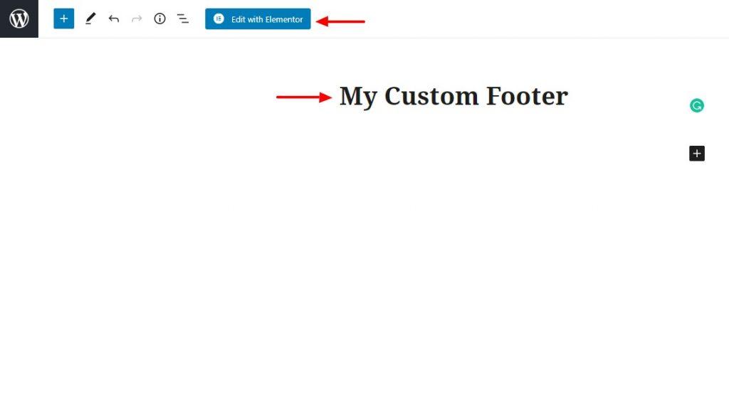 my custom footer