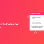 Introducing the Table of Contents module for Beaver Builder